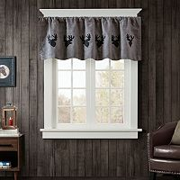 Woolrich Deer Faux Suede Window Valance