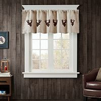 Woolrich Deer Faux Suede Valance