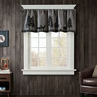 Woolrich Tree Faux Suede Valance