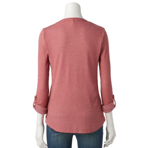 Women's SONOMA Goods for Life™ Ribbed Top