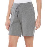 Women's Croft & Barrow® Knit Bermuda Shorts