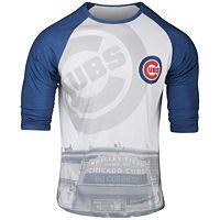 Men's Chicago Cubs Raglan Baseball Tee