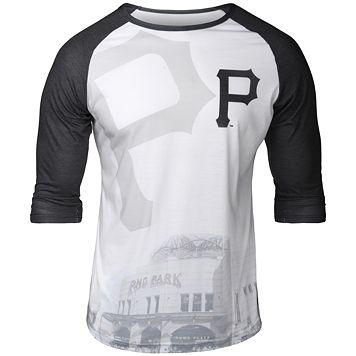 Men's Pittsburgh Pirates Raglan Baseball Tee