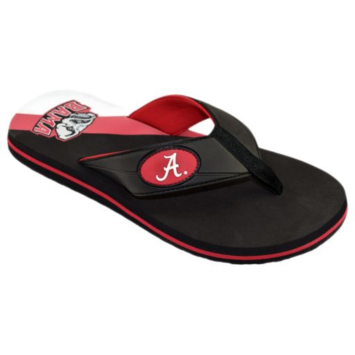 Men's College Edition Alabama Crimson Tide Flip-Flops