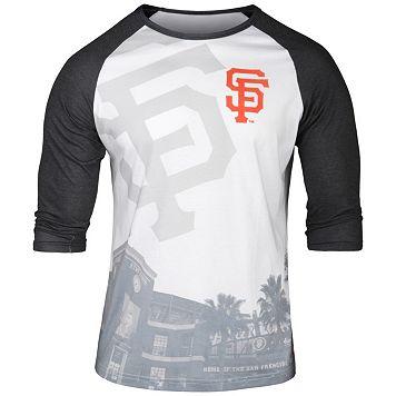 Men's San Francisco Giants Raglan Baseball Tee