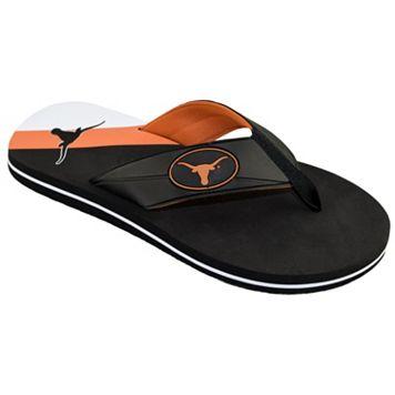 Men's College Edition Texas Longhorns Flip-Flops
