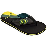 Men's College Edition Oregon Ducks Flip-Flops