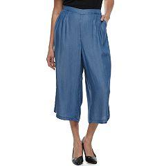 Plus Size Apt. 9® Wide-Leg Culottes