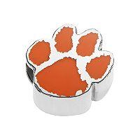 LogoArtSterling Silver Clemson Tigers Bead