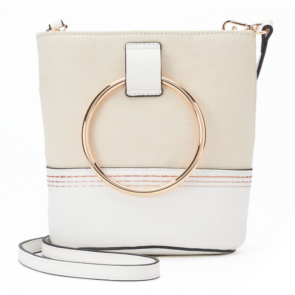 LC Lauren Conrad Mini Bucket Crossbody Bag