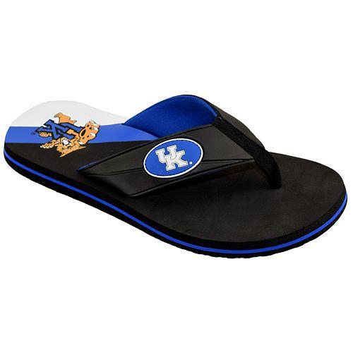 Men's College Edition Kentucky Wildcats Flip-Flops