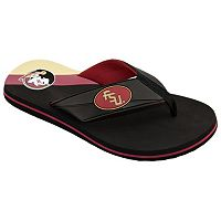 Men's College Edition Florida State Seminoles Flip-Flops
