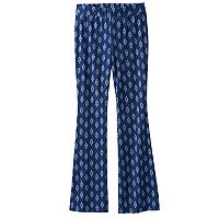 Girls 7-16 Joey B Patterned Soft Flare Pants