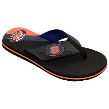 Men's College Edition Auburn Tigers Flip-Flops