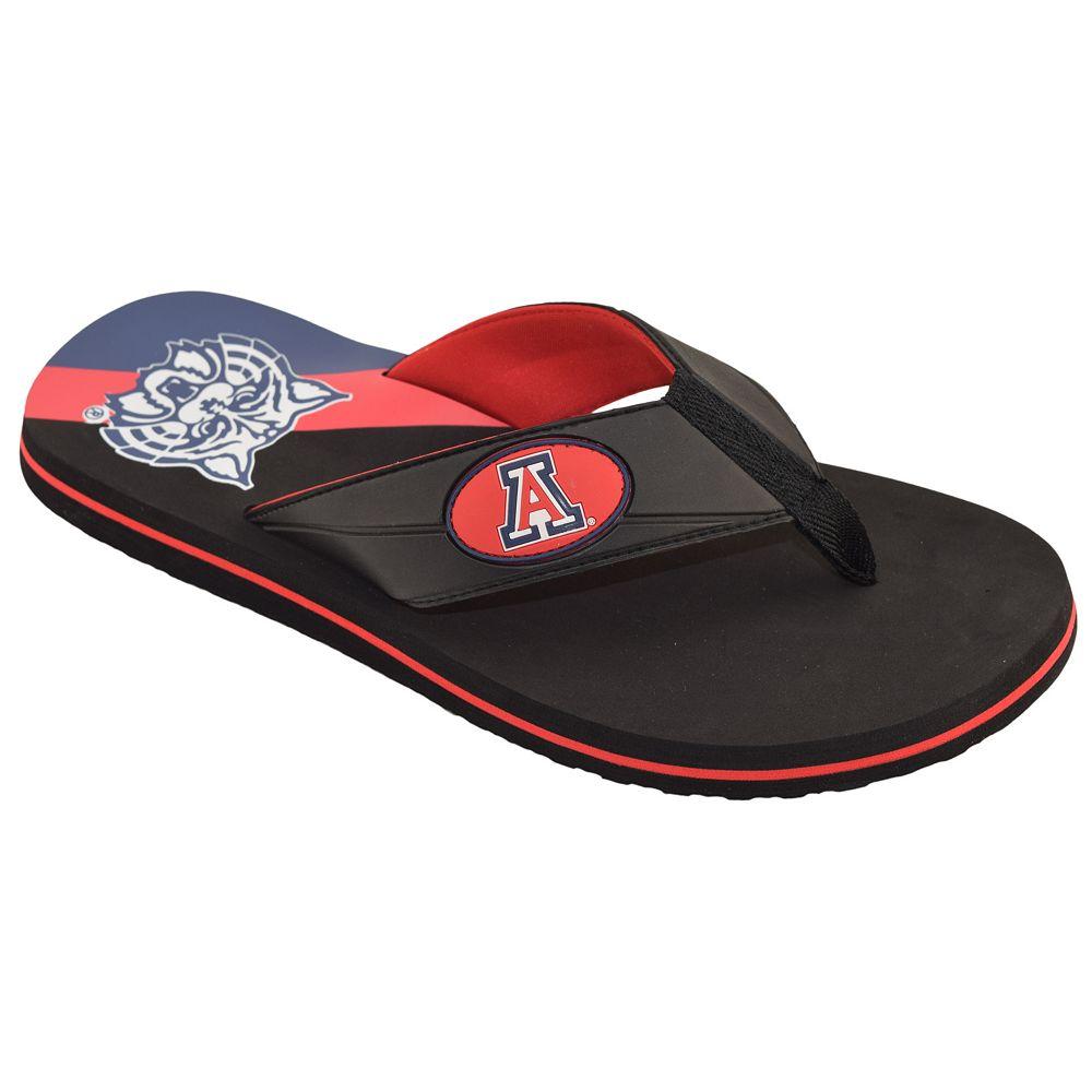 Women's Arizona Wildcats ... Floral Flip Flop Sandals PhslM12