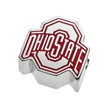 LogoArtSterling Silver Ohio State Buckeyes Bead