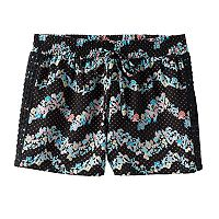 Girls 7-16 Joey B Crochet Side Soft Shorts