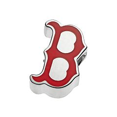 LogoArt Sterling Silver Boston Red Sox Bead