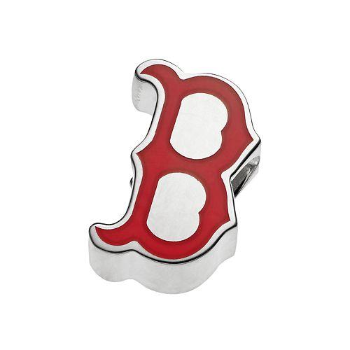 LogoArtSterling Silver Boston Red Sox Bead