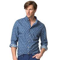 Men's Chaps Classic-Fit Button-Down Shirt