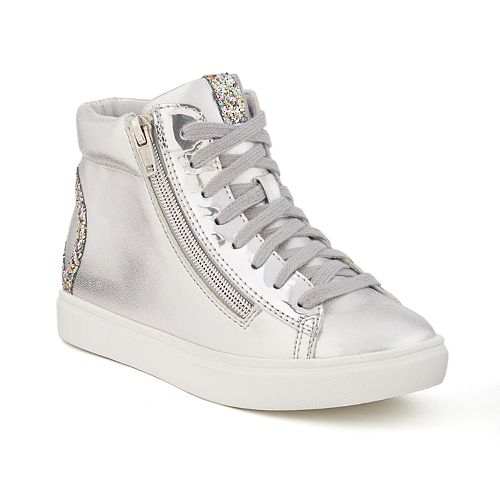 SO® Cascade Girls' Peace Sign Sneakers