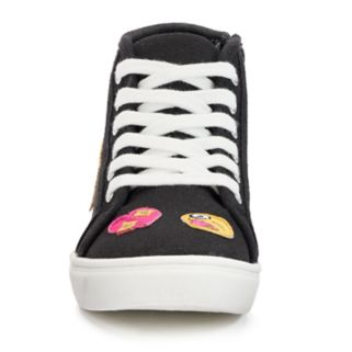 SO® Linden Girls' Emoji Sneakers