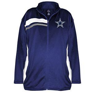 Plus Size Majestic Dallas Cowboys Fleece Jacket