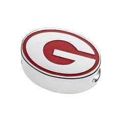 LogoArtSterling Silver Georgia Bulldogs Bead