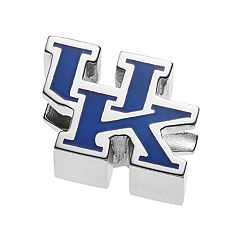 LogoArt Sterling Silver Kentucky Wildcats Bead