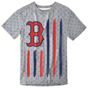 Men's Boston Red Sox Big Logo Flag Tee