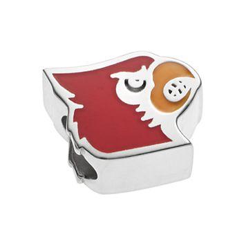 LogoArtSterling Silver Louisville Cardinals Bead