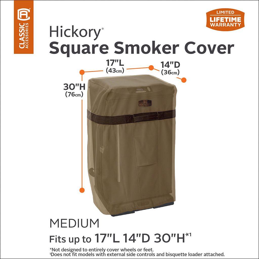 Hickory Medium Square Smoker Cover