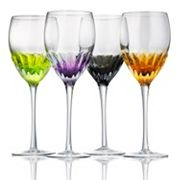 Artland Solar 4 pc Goblet Glass Set
