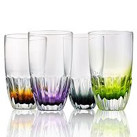 Artland Solar 4 pc Highball Glass Set