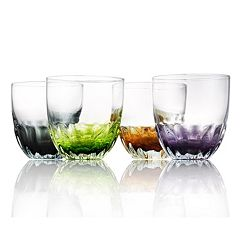 Artland Solar 4 pc Double Old-Fashioned Glass Set