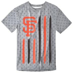Men's San Francisco Giants Big Logo Flag Tee