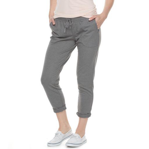 Petite SONOMA Goods for Life™ Beach Fleece Cuffed Pants