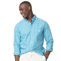 Men's Chaps Tattersall Woven Button-Down Shirt