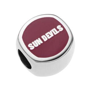LogoArtSterling Silver Arizona State Sun Devils Bead