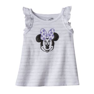 Disney's Minnie Mouse Baby Girl Striped Graphic Tank Top by Jumping Beans®