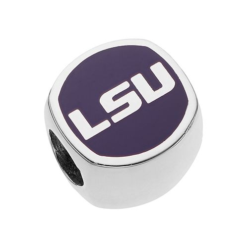 LogoArtSterling Silver LSU Tigers Bead