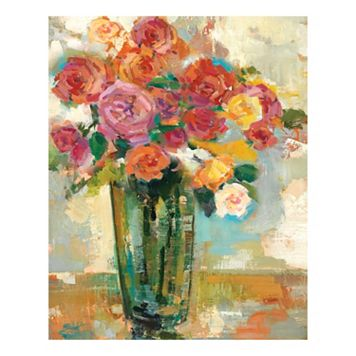 Free For All IV Canvas Wall Art