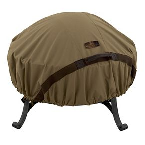 Hickory Small Round Fire Pit Cover