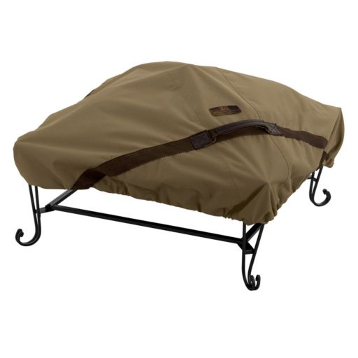 Hickory Square Fire Pit Cover
