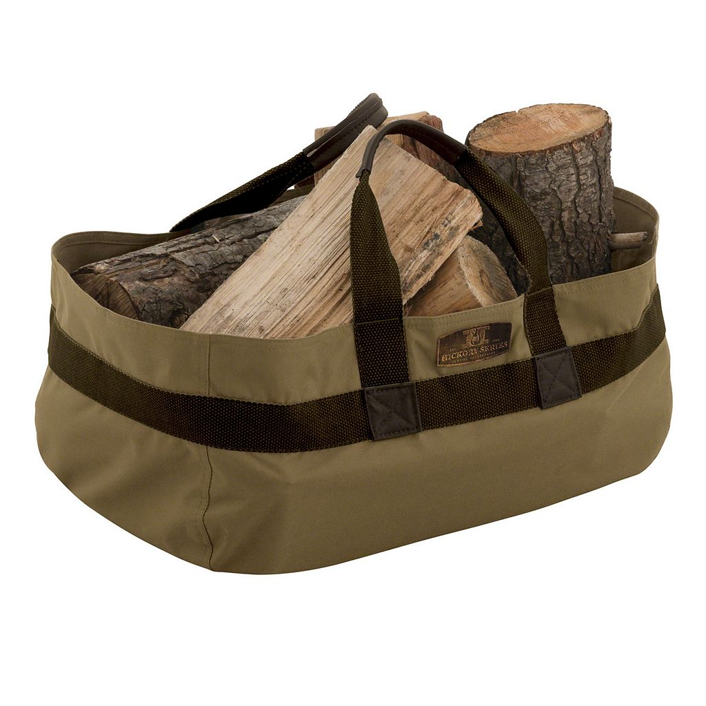 Hickory Jumbo Log Carrier Tote