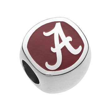 LogoArtSterling Silver Alabama Crimson Tide Bead