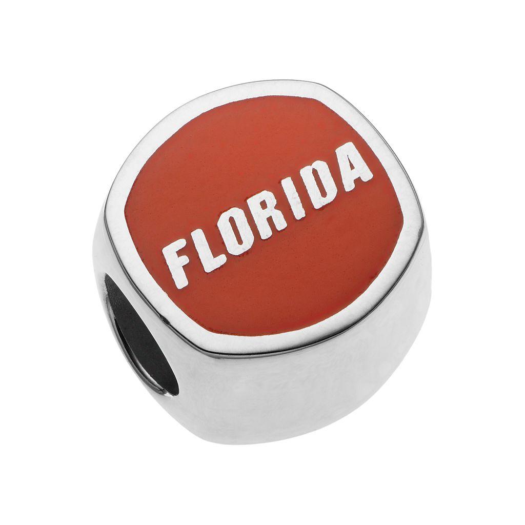 LogoArtSterling Silver Florida Gators Bead