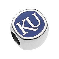 LogoArtSterling Silver Kansas Jayhawks Bead