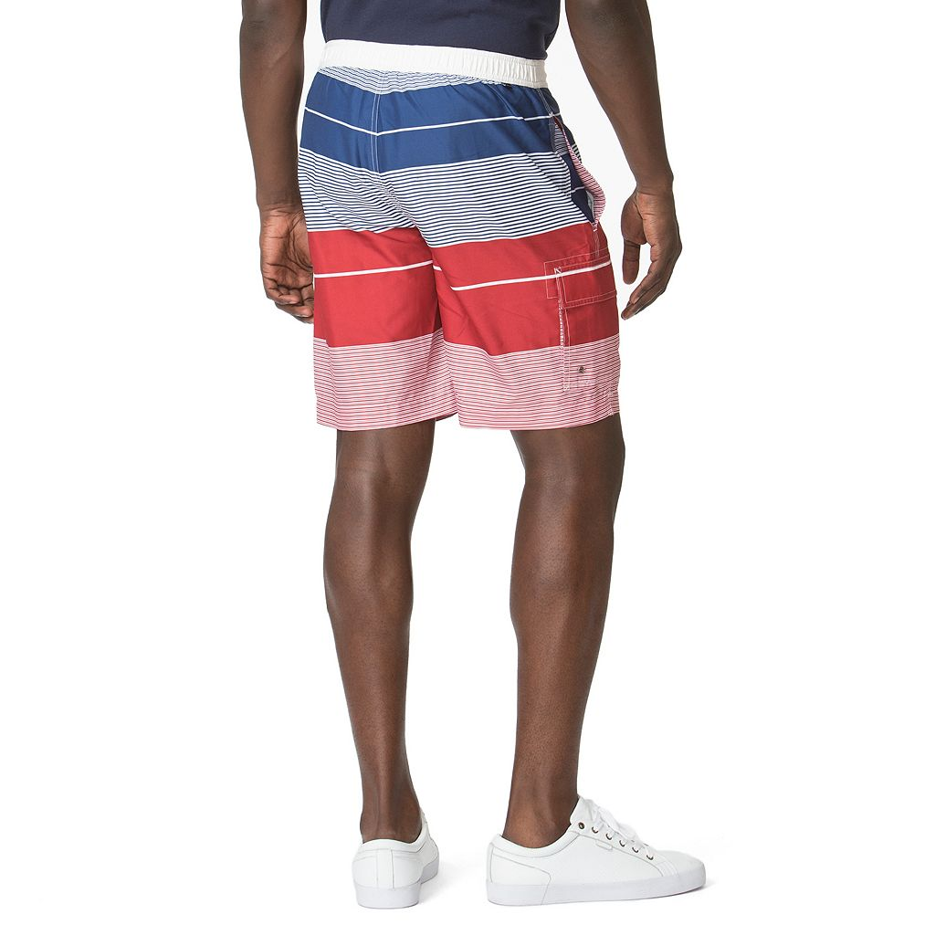 Men's Chaps Striped Board Shorts