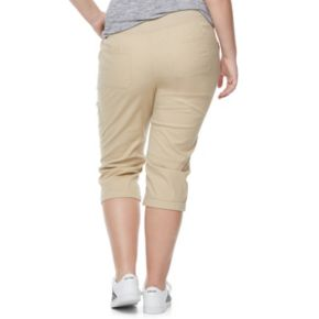 Juniors' Plus Size SO® Utility Capri Pants